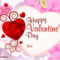 Happy Valentine SMS Messages in English for Lovers