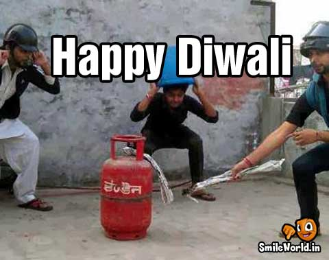 Happy Diwali Funny Pictures for Whatsapp