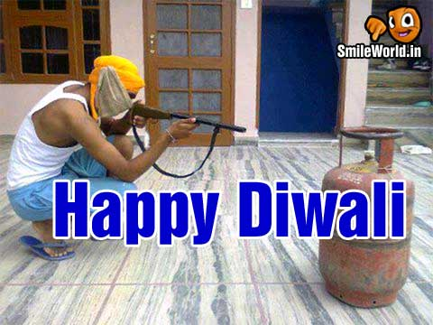 Happy Deepavali Funny Wishes Images