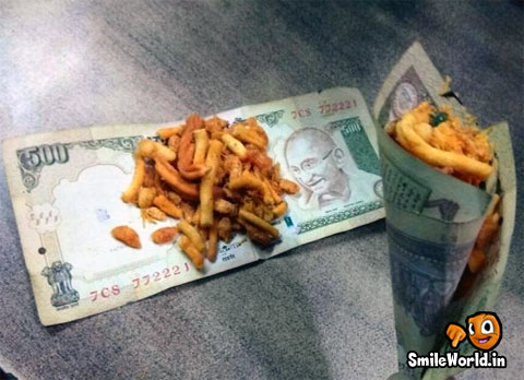 1000 & 500 Rupee Note Funny Pictures