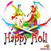 Beautiful Happy Holi Image for Whatsapp DP