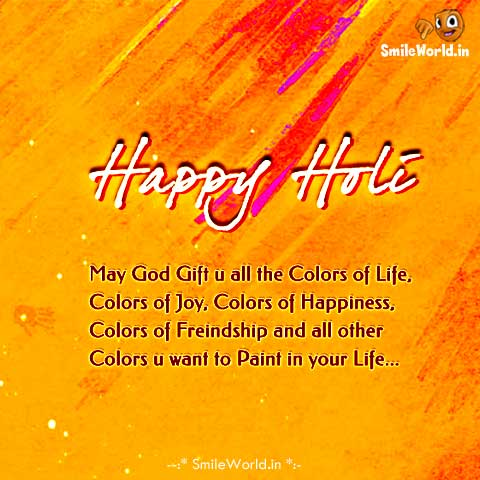 happy holi best wishes in english