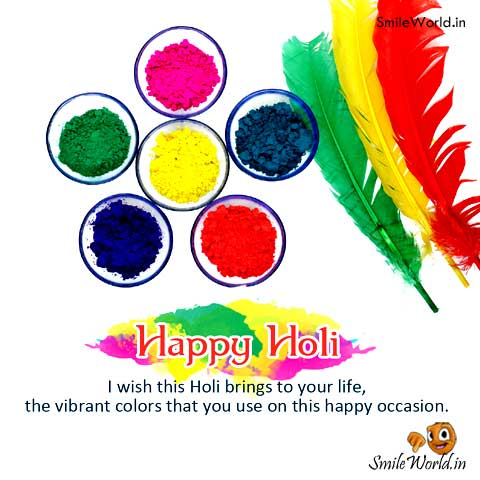 holi greetings messages for facebook and Whatsapp