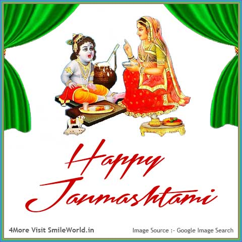 Best Happy Janmashtami Wishes in Hindi Images