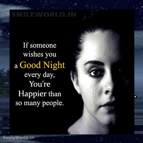 Good Night every day Wishes in English With Images