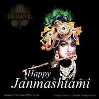 Happy Janmashtami Greeting Cards Wishes