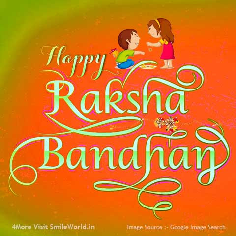 Raksha Bandhan Greetings in English