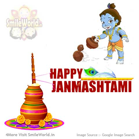 English Happy Janmashtami Wishes for Facebook
