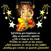 Happy Ganesh Chaturthi Wishes in English