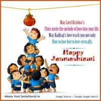 Happy Janmashtami Images in English
