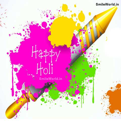 Happy Holi Wishes Messages in English Image Status