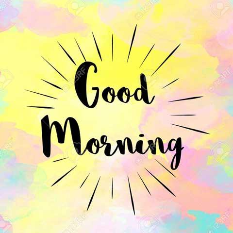 Good Morning Message