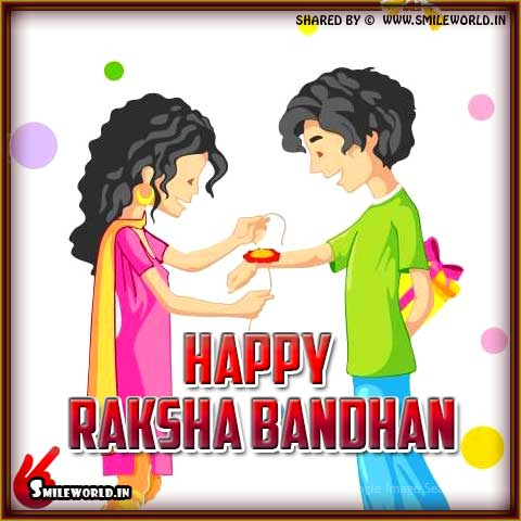 Happy Raksha Bandhan PicSMS Status Images in English