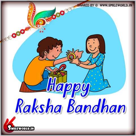 Happy Raksha Bandhan Status Wishes Images