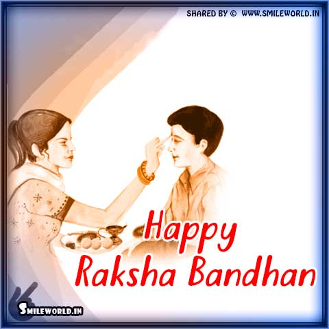Happy Raksha Bandhan Wishes Images for Whatsapp Status
