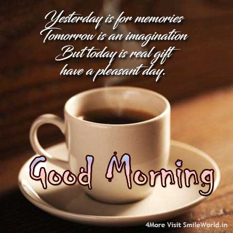 Have a Pleasant Day Good Morning Status Message