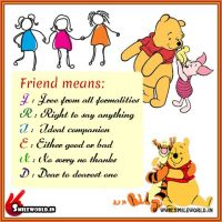 Friend Means Happy Friendship Day Quotes and Wishes