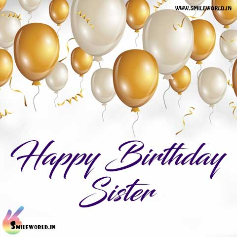 Happy Birthday Wishes In Hindi For Sister Images Wallpaper Facebook