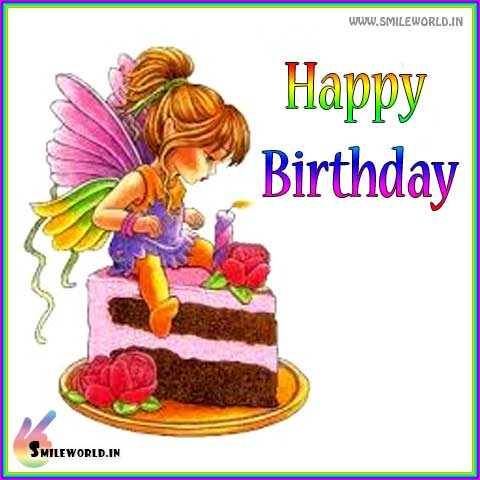 Happy Birthday Wishes Cute Images for Girl