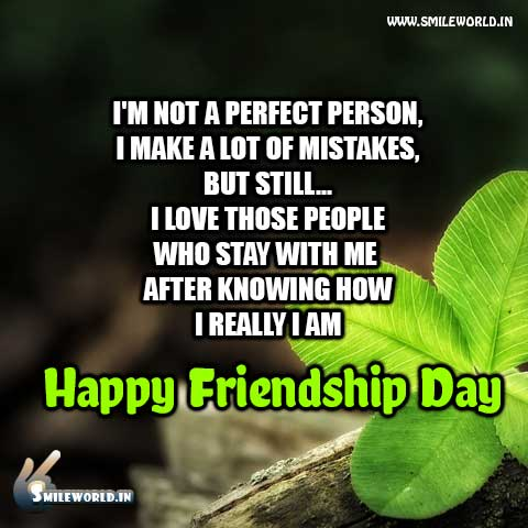Happy Friendship Day Special Quotes in English