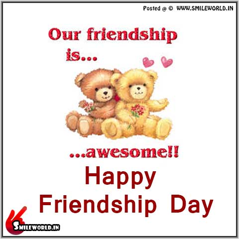 Our Friendship is Awesome Happy Friendship Day