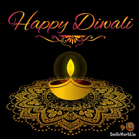 Diwali PIcSMS for Facebook and Whatsapp