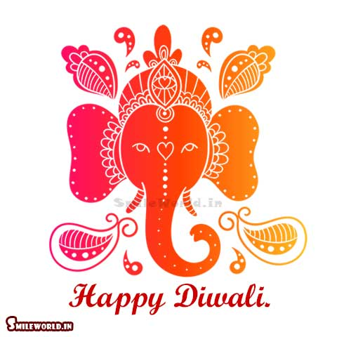Happy Diwali God Ganesh Status Images for Friends
