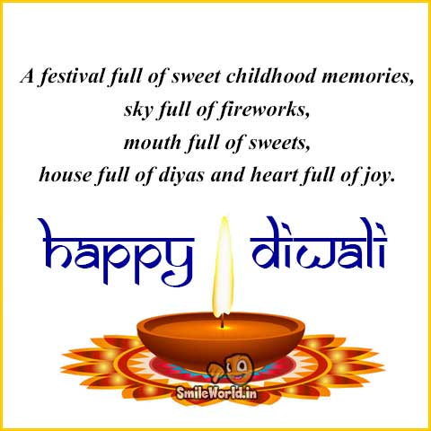 Happy Diwali Quotes and Wishes in English