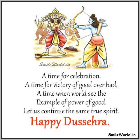 Happy Vijaya Dashami Pic SMS Status for Whatsapp Status