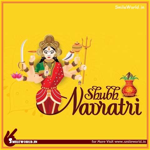 Shubh Navratri Images Status in Hindi for Facebook Whatsapp