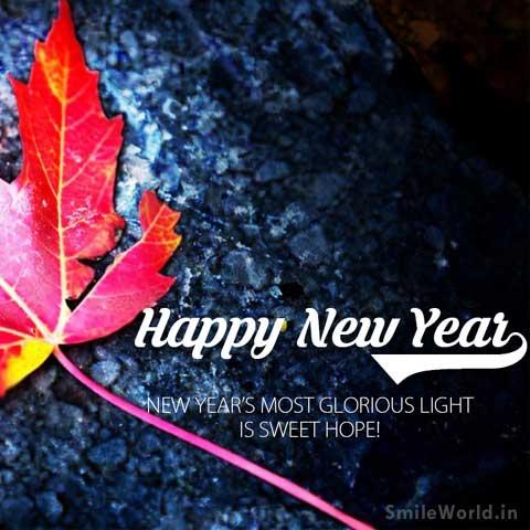 Latest Happy New Year Greetings Image Status in Hindi