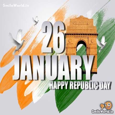 26 January Happy Republic Day Images for Whatsapp Status