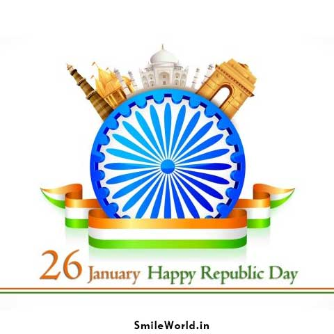 26 January Republic Day Status Wishes Images