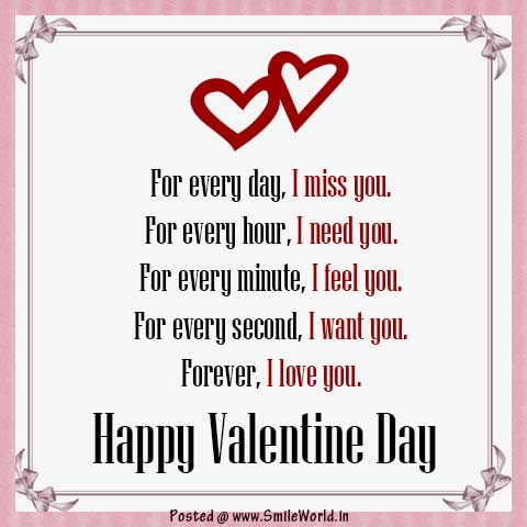Forever I love you Happy Valentine Day Images