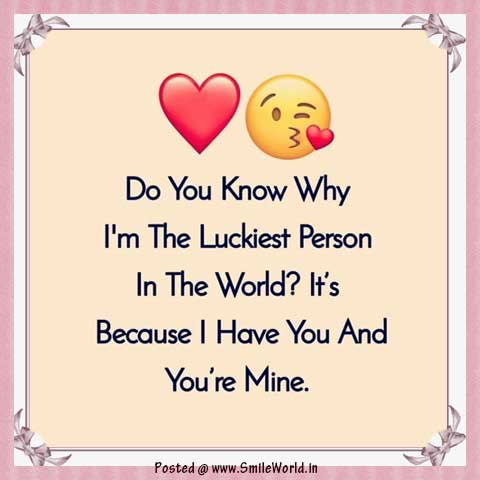 I am The Luckiest Person Happy Valentine Day Images