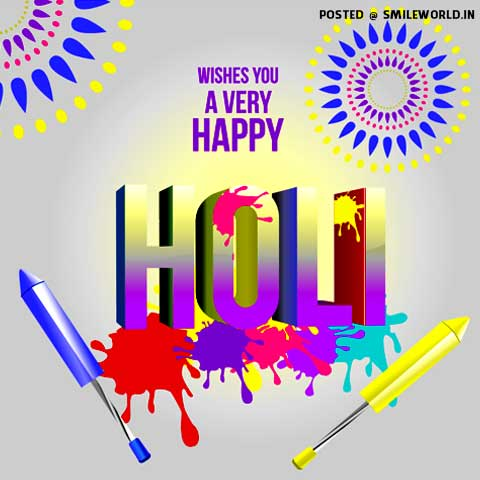 Holi Wishes Images Status HD Wallpapers