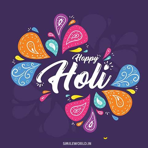 Holi Wishes Images for Whatsapp