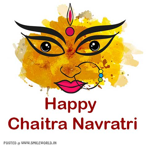 Happy Chaitra Navratri Wishes Image Status for Whatsapp