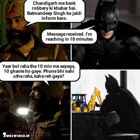 JCB Ki Khudai Funny Pictures Status