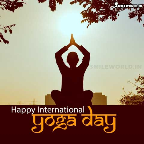 Happy International Yoga Day Wishes Images
