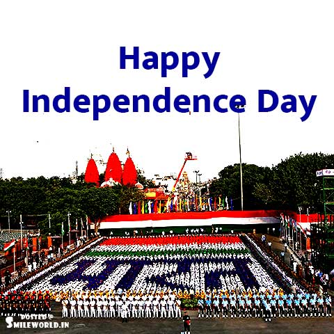 India Happy Independence Day Greetings Status