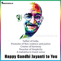 Happy Gandhi Jayanti to You Images Wallpaper Wishes