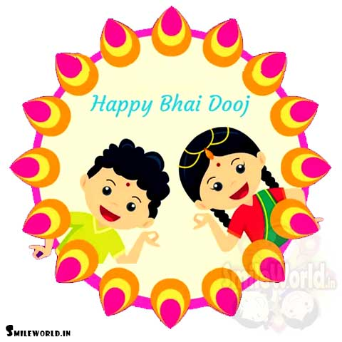 Bhai Dooj Greetings for Sister With Images