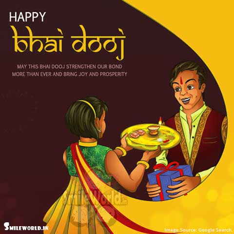 Happy Bhai Dooj Wishes for Brother Hindi Images