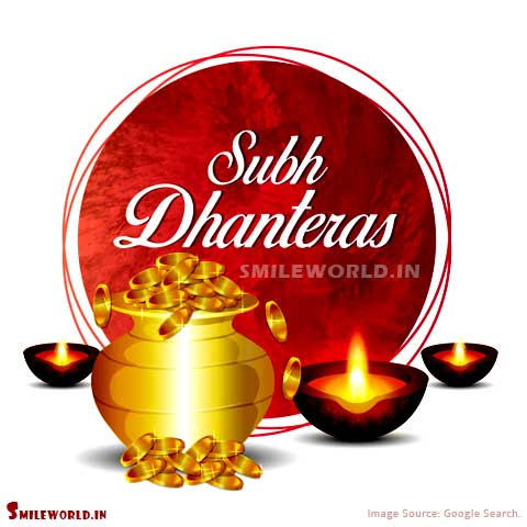 Shubh Dhanteras Wishes in Hindi Images