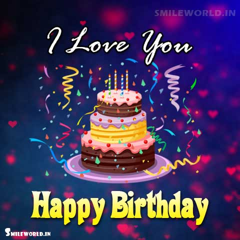 Happy Birthday I Love You Images for Girlfriend