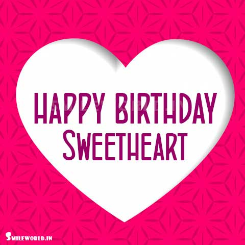 Happy Birthday Sweetheart Images for Girlfriend