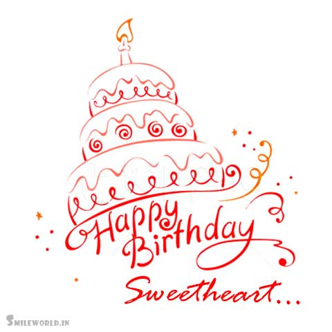 Happy Birthday Sweetheart Images