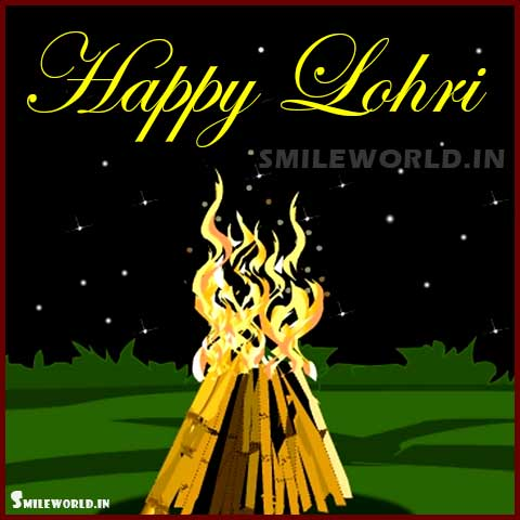 Happy Lohri Hindi Images for Whatsapp Status Update
